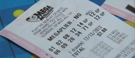 Boletos de la lotería mega millions megaplier