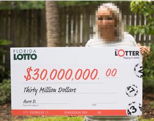 Ganadora de la lotería de Panamá