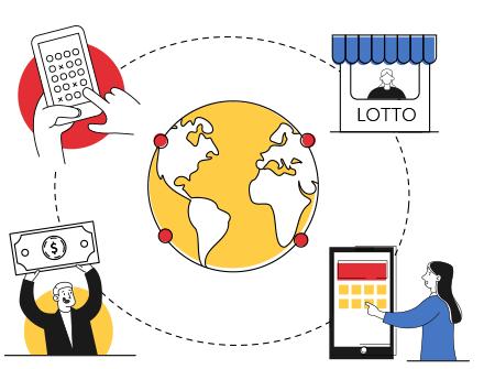 Boleto loteria messenger service